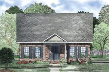 Dream House Plan - Traditional Exterior - Other Elevation Plan #17-2420