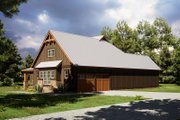 Craftsman Style House Plan - 4 Beds 2 Baths 1897 Sq/Ft Plan #923-165 Exterior - Other Elevation
