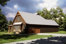 House Plan Design - Craftsman Exterior - Other Elevation Plan #923-165
