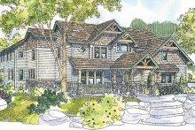 Dream House Plan - Craftsman Exterior - Front Elevation Plan #124-723