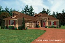 Architectural House Design - Ranch Exterior - Front Elevation Plan #930-482