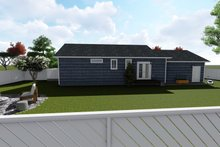 Home Plan - Ranch Exterior - Rear Elevation Plan #1060-28