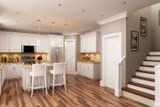 Craftsman Style House Plan - 3 Beds 2.5 Baths 2465 Sq/Ft Plan #419-168 Interior - Kitchen