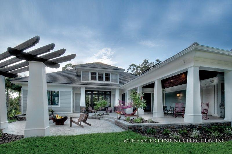 Bungalow Exterior - Rear Elevation Plan #930-19 - Houseplans.com