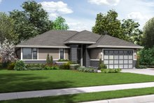 Dream House Plan - Ranch Exterior - Front Elevation Plan #48-599