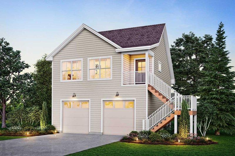 House Plan Design - Victorian Exterior - Front Elevation Plan #410-3611