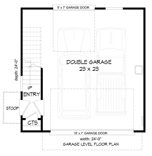 Dream House Plan - Traditional Floor Plan - Main Floor Plan #932-335