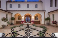 Dream House Plan - Mediterranean Exterior - Covered Porch Plan #484-8