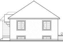 Modern Exterior - Rear Elevation Plan #23-700