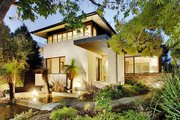 Modern Style House Plan - 5 Beds 2.5 Baths 3882 Sq/Ft Plan #496-1 Exterior - Other Elevation
