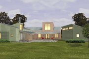 Modern Style House Plan - 3 Beds 2.5 Baths 2504 Sq/Ft Plan #433-2