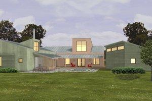 Modern Exterior - Other Elevation Plan #433-2
