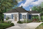 Modern Style House Plan - 2 Beds 1 Baths 992 Sq/Ft Plan #23-2661 Exterior - Front Elevation