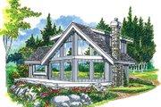 Modern Style House Plan - 3 Beds 2 Baths 1498 Sq/Ft Plan #47-324
