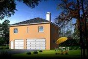 Mediterranean Style House Plan - 2 Beds 1 Baths 1247 Sq/Ft Plan #1-1460