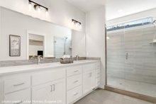 House Plan Design - Ranch Interior - Master Bathroom Plan #124-1194