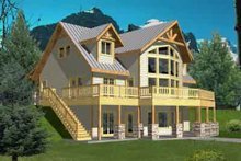 House Design - Modern Exterior - Front Elevation Plan #117-458