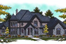 Dream House Plan - European Photo Plan #70-890
