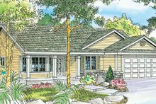 Home Plan - Traditional Exterior - Front Elevation Plan #124-738