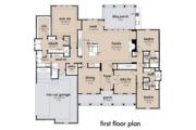 Farmhouse Style House Plan - 4 Beds 2 Baths 2459 Sq/Ft Plan #120-265 Floor Plan - Main Floor Plan
