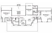 Craftsman Style House Plan - 4 Beds 3.5 Baths 3735 Sq/Ft Plan #419-143 Floor Plan - Upper Floor Plan