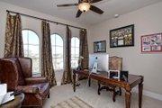 Mediterranean Style House Plan - 5 Beds 4 Baths 3585 Sq/Ft Plan #80-221 Interior - Bedroom