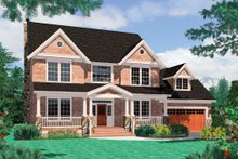 House Plan Design - Farmhouse Exterior - Front Elevation Plan #48-105