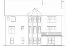Craftsman Exterior - Rear Elevation Plan #419-165