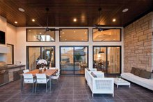 Home Plan - Contemporary Exterior - Outdoor Living Plan #935-5