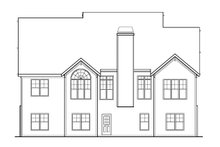 Craftsman Exterior - Front Elevation Plan #927-3