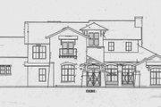 Mediterranean Style House Plan - 4 Beds 4.5 Baths 3937 Sq/Ft Plan #472-2 Photo