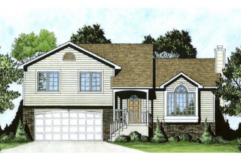 Home Plan - Traditional Exterior - Front Elevation Plan #58-170