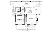Country Floor Plan - Main Floor Plan Plan #932-3