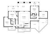 Craftsman Style House Plan - 4 Beds 4 Baths 3869 Sq/Ft Plan #437-104 Floor Plan - Lower Floor