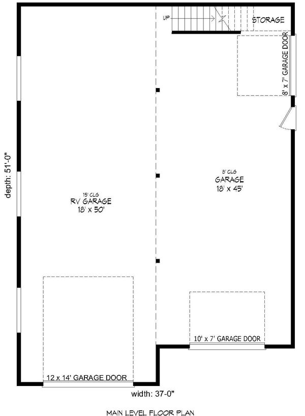 Country Floor Plan - Main Floor Plan Plan #932-161