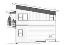 Modern Exterior - Other Elevation Plan #895-112