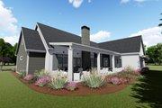 Farmhouse Style House Plan - 3 Beds 3 Baths 2590 Sq/Ft Plan #1069-4 Exterior - Rear Elevation