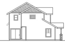 House Plan Design - Craftsman Exterior - Other Elevation Plan #124-718