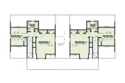 Country Style House Plan - 6 Beds 4 Baths 2758 Sq/Ft Plan #17-2563 Floor Plan - Upper Floor Plan