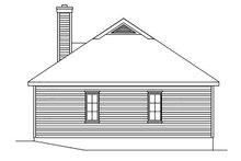 Cottage Exterior - Rear Elevation Plan #22-569