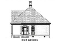 House Plan Design - Southern Exterior - Other Elevation Plan #45-253