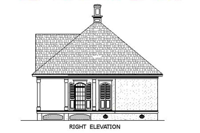 Southern Exterior - Other Elevation Plan #45-253 - Houseplans.com