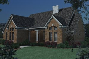 Traditional Exterior - Other Elevation Plan #120-159