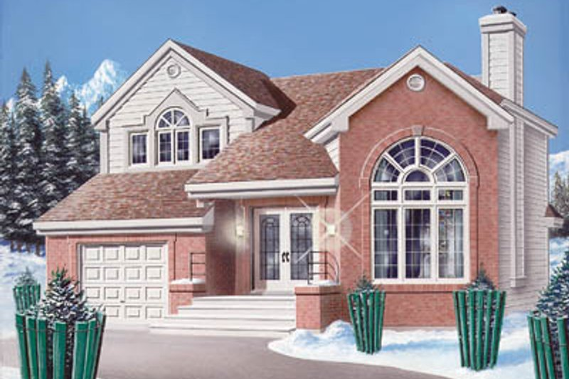 Traditional Exterior - Front Elevation Plan #23-209