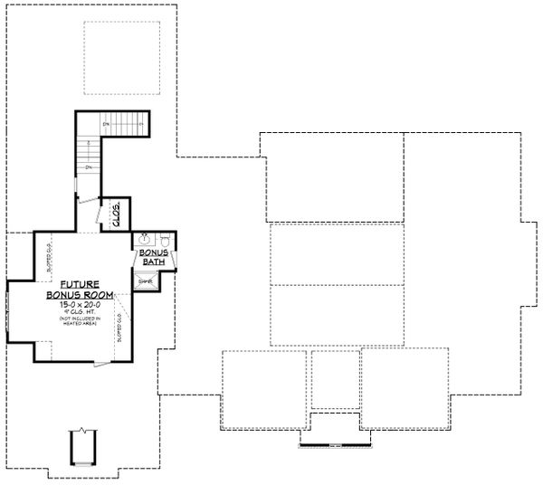 Farmhouse Floor Plan - Other Floor Plan Plan #430-202