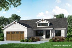 Farmhouse Exterior - Front Elevation Plan #929-1133