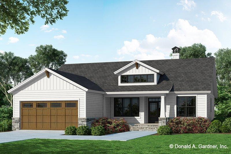 House Design - Farmhouse Exterior - Front Elevation Plan #929-1133