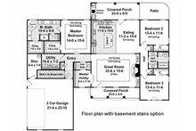 Country Floor Plan - Other Floor Plan Plan #21-197