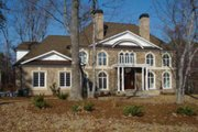 Classical Style House Plan - 5 Beds 6.5 Baths 5691 Sq/Ft Plan #119-180 Exterior - Other Elevation