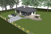 Bungalow Style House Plan - 2 Beds 1 Baths 1450 Sq/Ft Plan #549-28 Photo
